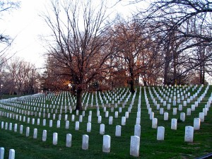 one of the many fields of graves in arlington national cemetary.  so many brave men and women who made the ultimate sacrifice for our freedom.