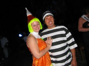 arrested for stealing candy corn?