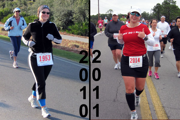 i definitely looked more like a runner this year