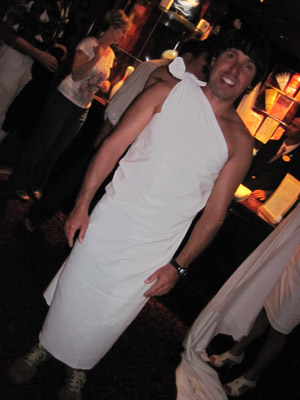 "hubby feeling a little ""dress""y"