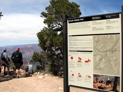 south kaibab trailhead