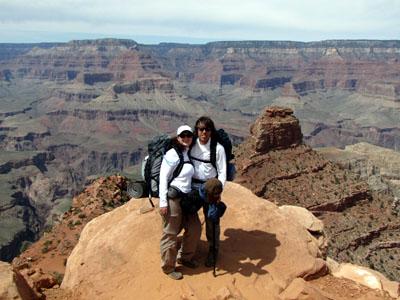 me, hubby, canyon